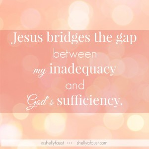 I Am Enough - Jesus bridges the gap