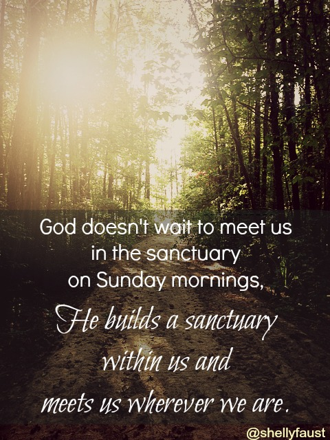 a sanctuary within us